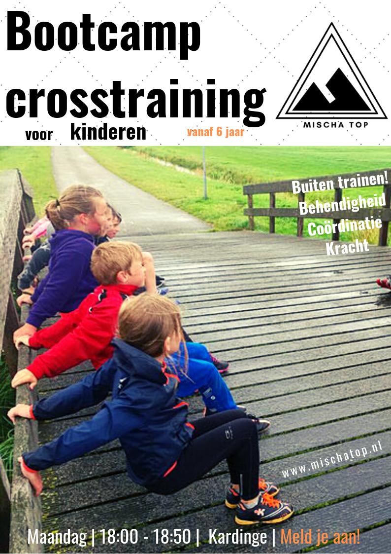 Bootcamp Kinderen crossfit training Mischa Top