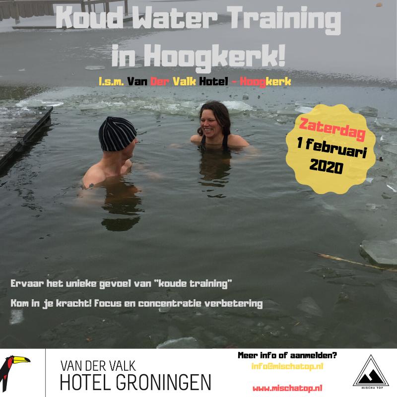 Koud Water Training in Hoogkerk Mischa Top!
